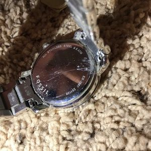 Fossil Accessories - Women's Fossil Watch - Diamond, Silver, Pearl Face